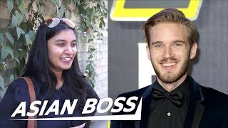 What Indians Think Of PewDiePie vs T-Series [Street Interview]   ASIAN BOSS