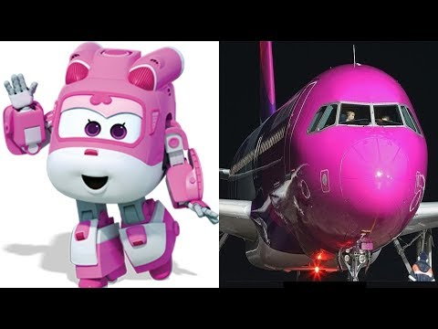 Super Wings ALL Characters In Real Life