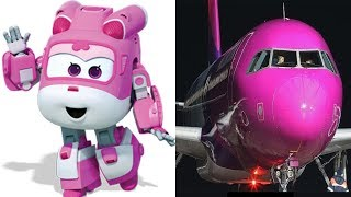 Super Wings ALL Characters In Real Life 2018
