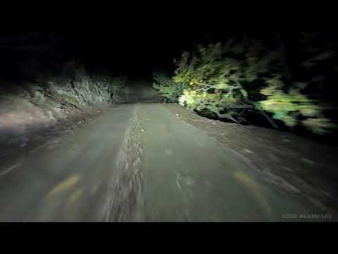 Night Drive at MOUNTAIN ROADS (With ONLY Engine Sound) - ASMR Video to Watch Before You Sleep