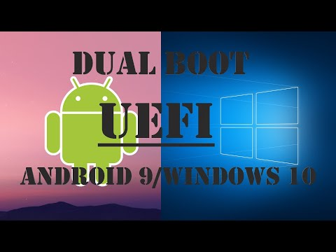 INSTALLAZIONE ANDROID 9 PC NATIVE IN DUAL BOOT WINDOWS 10 UEFI! VIDEO TUTORIAL INEDITO SU YOUTUBE!!!