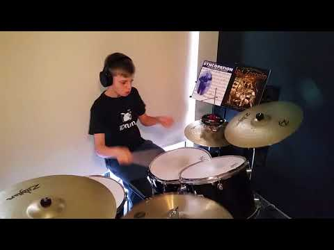 Good times bad times played by 11 year old Nikdragdrummer