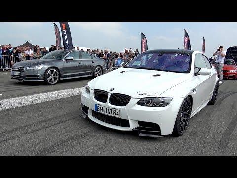 BMW M3 E92 G-POWER V8 KOMPRESSOR vs Audi S6