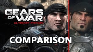 Gears of War Ultimate Edition Comparison