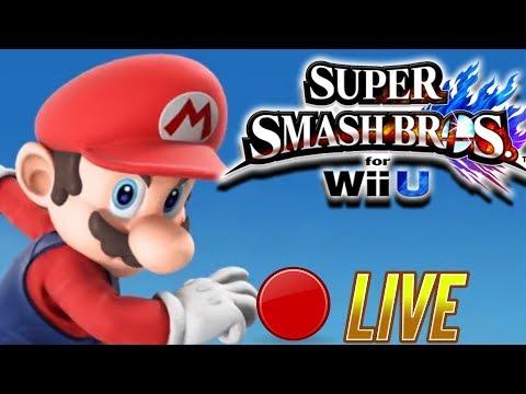 [🔴LIVE]   FOR GLORY!~ [Super Smash Bros Wii U] 4/16/2018