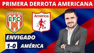 Envigado 1-0 América   Liga Dimayor 2021-II   Resumen y análisis del partido por Juan Felipe Cadavid