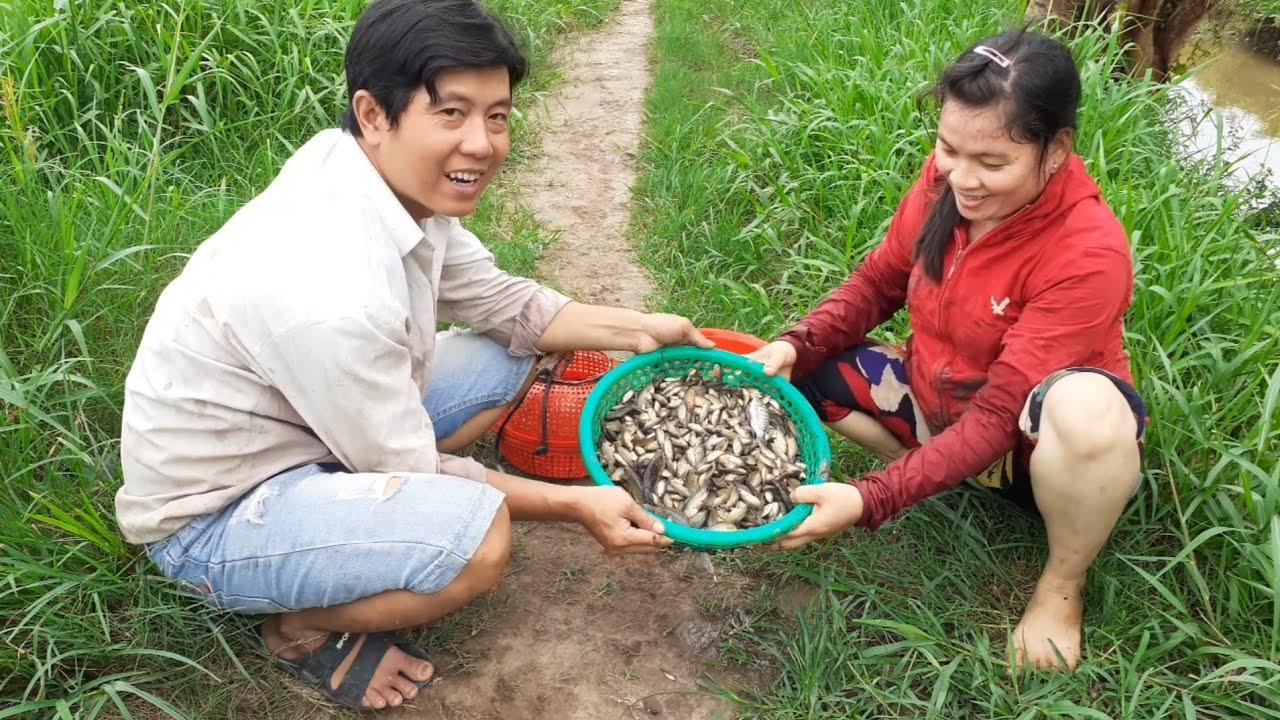 Trúng Mánh Mùa Cá Cạn Sau Một Ngày Ra Đồng| TKQ T318