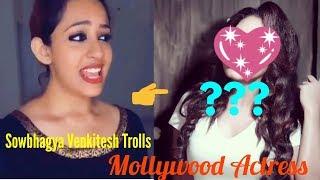 Sowbhagya Venkitesh Trolls Popular Mollywood Actor   Sowbhagya Venkitesh Musical.ly Kerala India