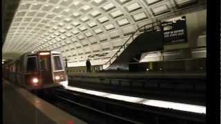 Washington Metro Subway System Montage