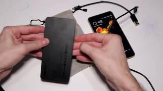 Как зарядить телефон , поможет Power Bank CHUWI M10 емкость  10000 mAh  Type-C обзор и тест новинки.
