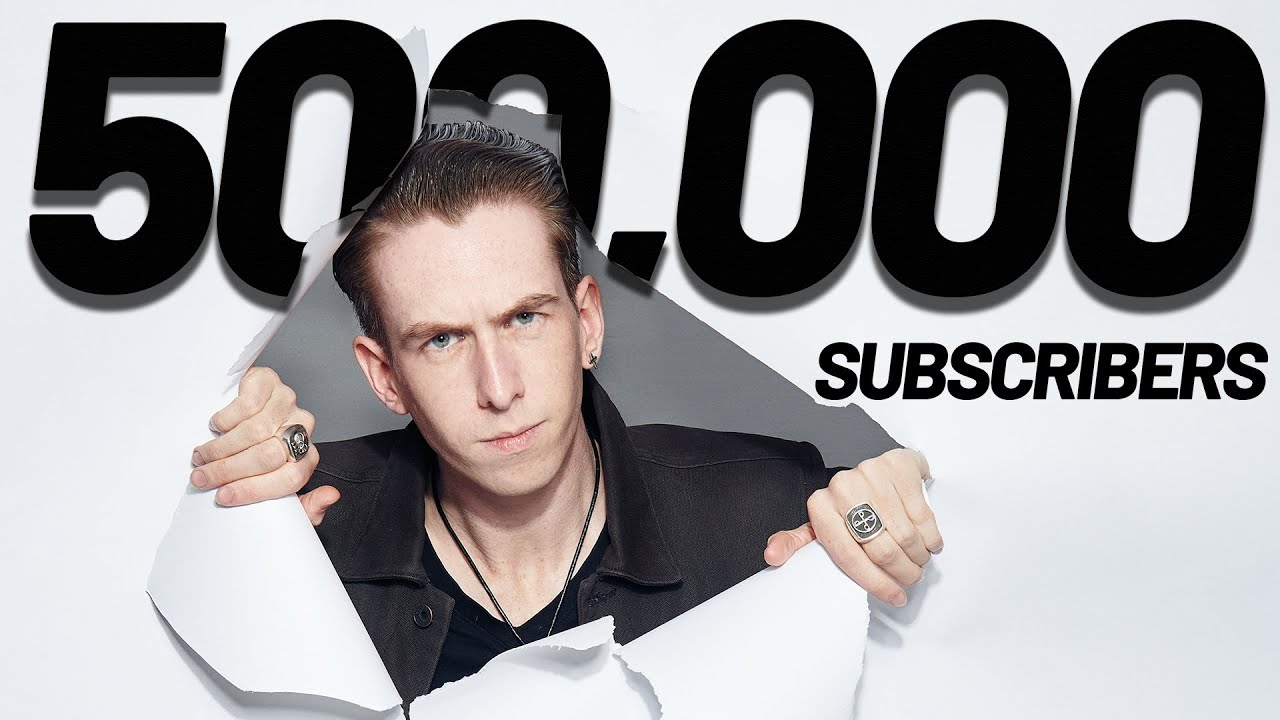 Lewis Spears 500,000 Subscriber Special *EMOTIONAL*