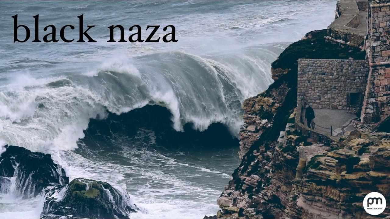 超巨大な波にも立ち向かうポルトガルのサーファーたちが度胸あり過ぎるw