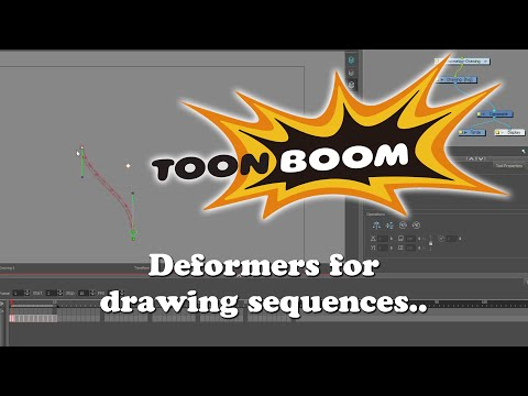 Toon Boom Animation Tutorial - Deformers for animation sequences