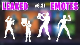 *NEW LEAKED* Emotes Phone It In, Mime Time, Scorecard, Showstopper - Fortnite v6.31 Update