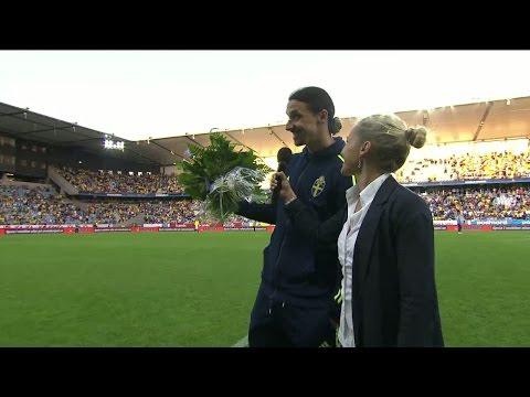 """Zlatan hintar om återvändo till Malmö: """"Jag kommer, jag kommer"""" - TV4 Sport"""