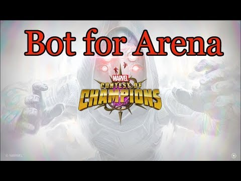 Bot for arena marvel contest of champions script hack  AUTO FIGHT 24/7  update (07 07 2018)