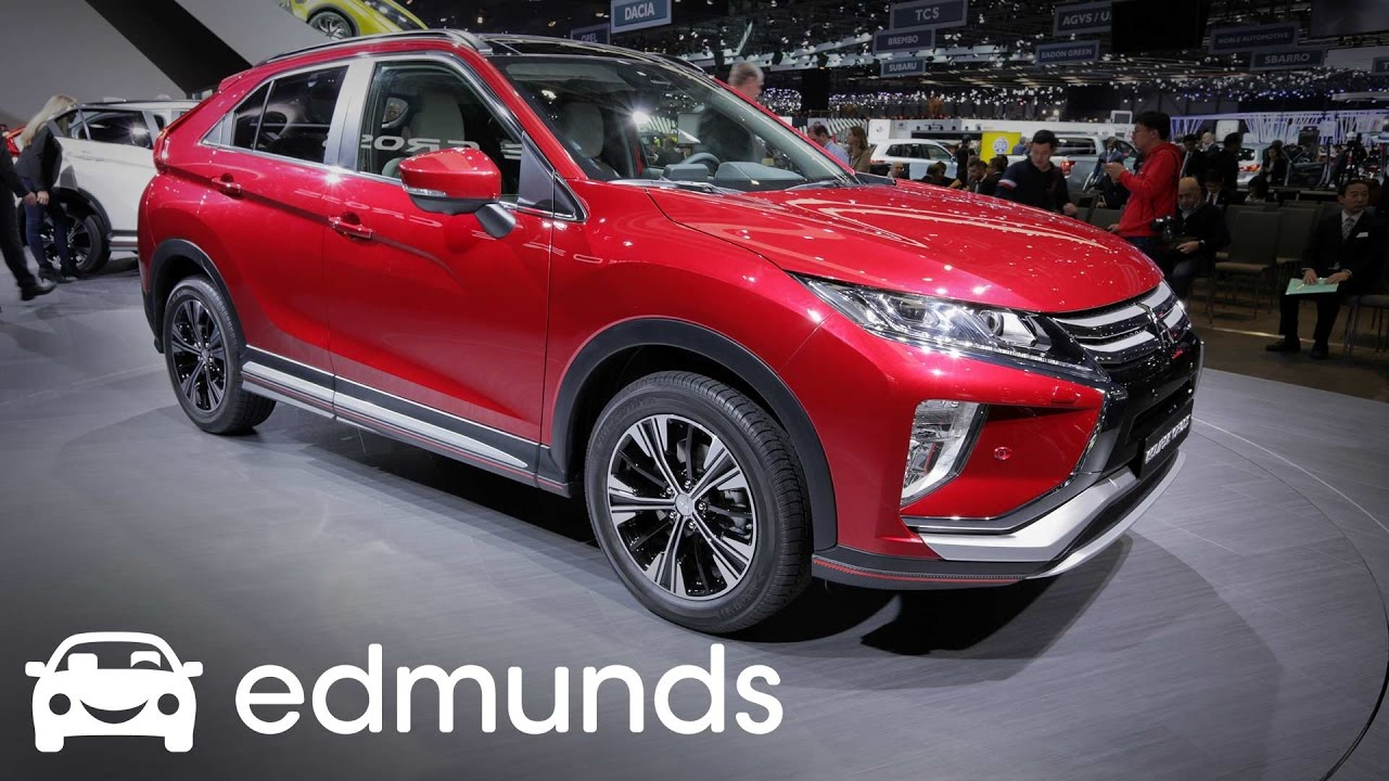 edmunds new car release dates2018 Mitsubishi Eclipse Cross First Look  Edmunds