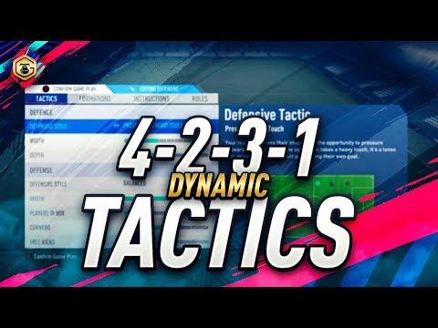 GORILLA'S 30-0 DYNAMIC TACTICS & PLAYER INSTRUCTIONS | FUT CHAMPIONS TOP 100 | FIFA 19 ULTIMATE TEAM