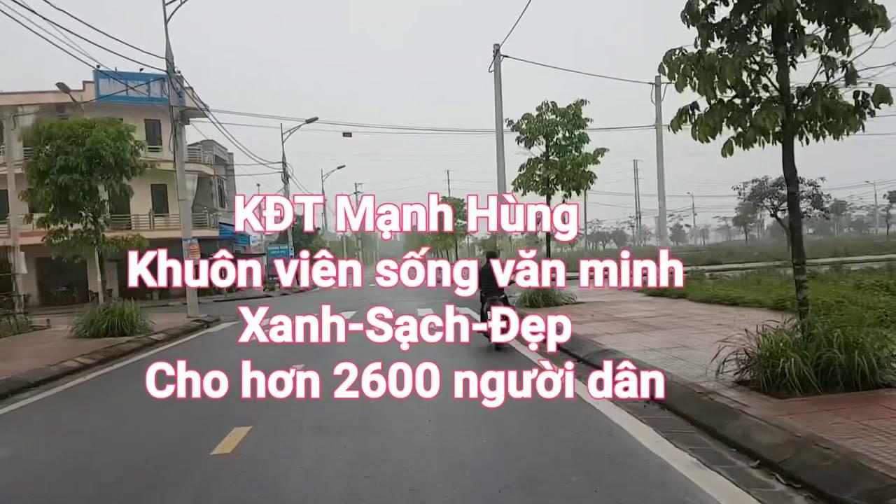 Thực địa Khu đô thị Mạnh Hùng Green CITy Hà Nam