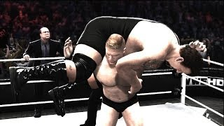 WWE 2K14 : Ruthless Aggression - Brock Lesnar w/ Paul Heyman Vs. Big Show | Surivior Series 2002