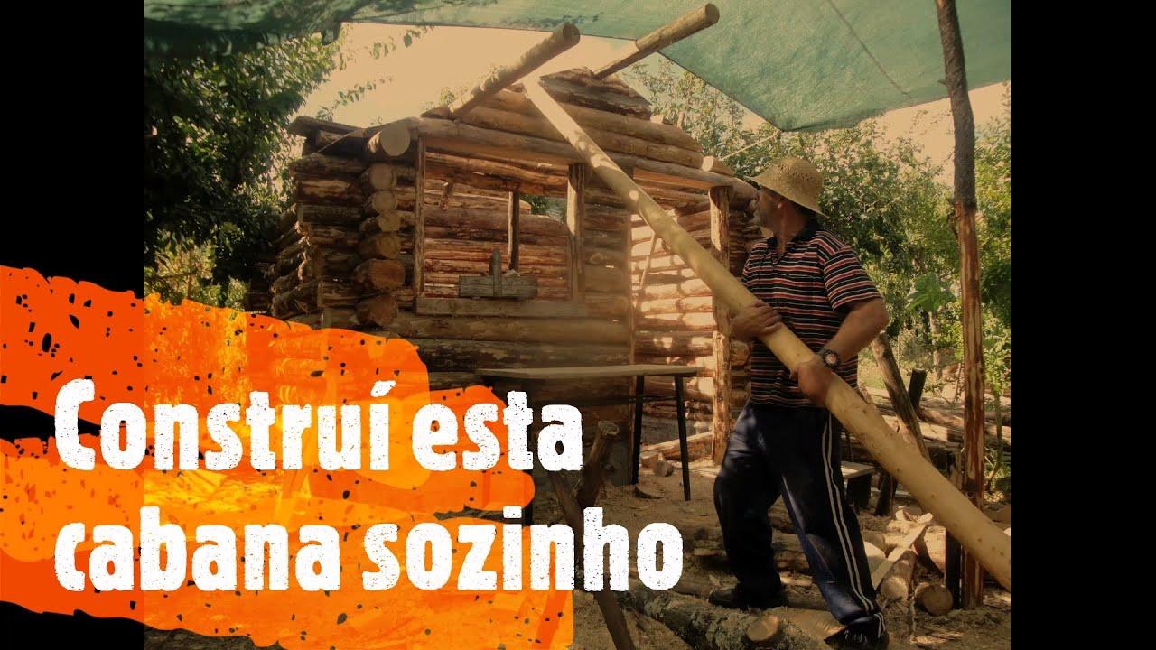 Constru o passo a passo de uma cabana de troncos youtube for Modelos de cabanas rusticas