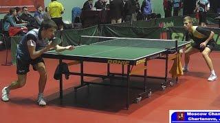 Чемпионат Москвы 2015 Андрей БУКИН - Илья ШАМИН Настольный теннис, Table Tennis