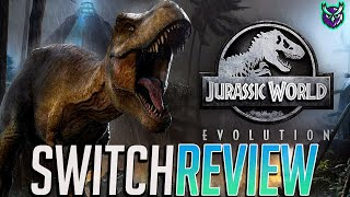 Jurassic World Evolution Switch Review - Welcome to Jurassic Park, In Your Hands! (Video Game Video Review)