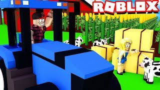 JESTEŚMY FARMERAMI W ROBLOX?! (Roblox Farming Simulator) - Vito i Bella