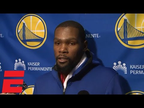 Kevin Durant says Drake 'talks a lot of trash over there on that sideline' | NBA Sound