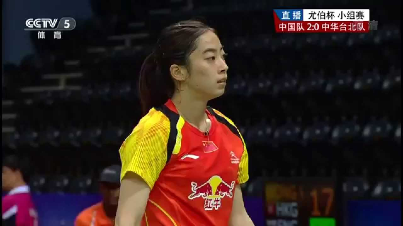 HD] GS CHN vs TWN WS2 WANG Shixian vs LEE Chia Hsin 2014