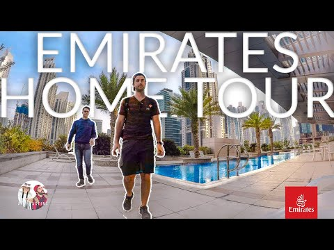 Best Emirates Cabin Crew Accommodation | Crew Benefits & Per