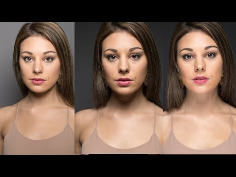 Shaping a Model's Face with light: OnSet ep. 162