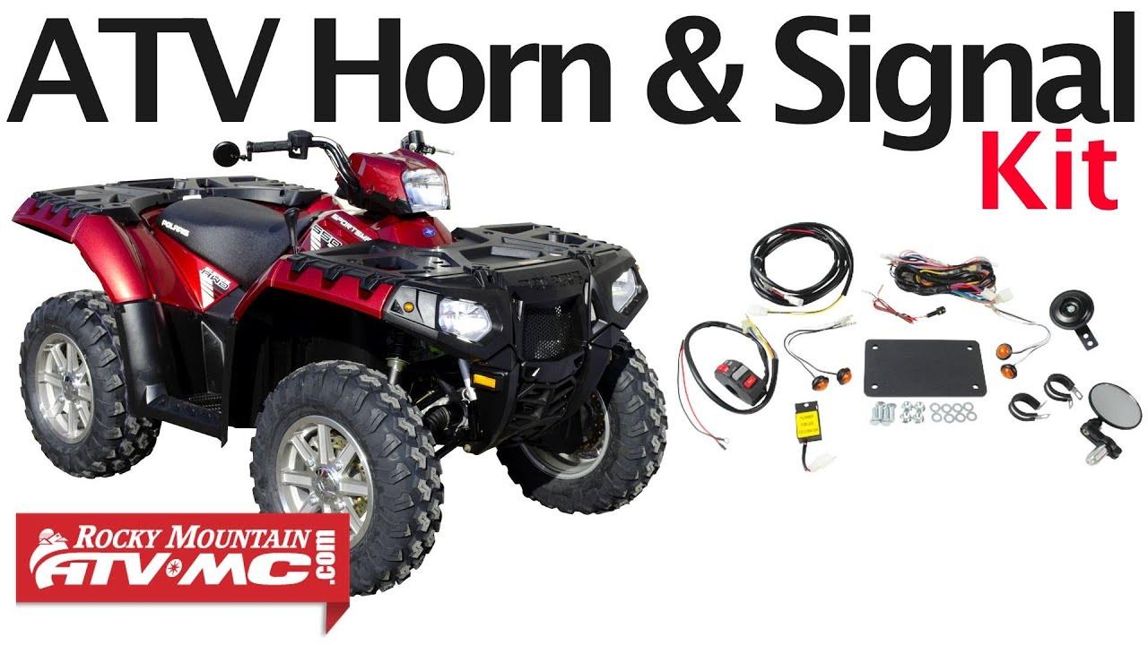 atv lighting kit installation tusk horn and signal kit atv led turn signal kit wiring diagram [ 1280 x 720 Pixel ]