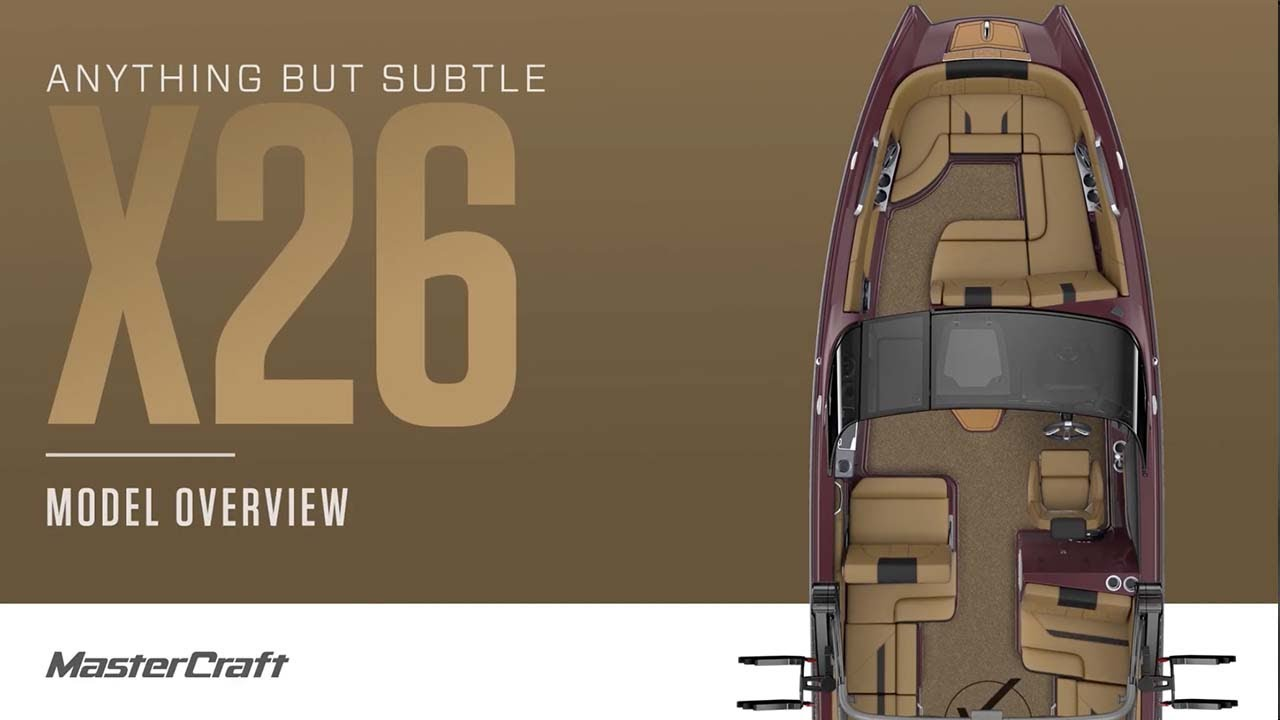 Download 2022 MasterCraft X26   Model Overview