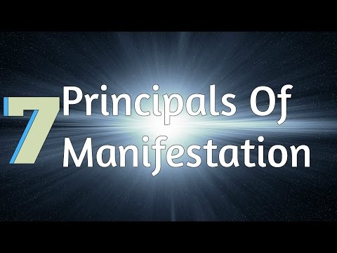 The 7 Universal Principles Of Manifestation! (Law Of Attract