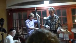 Andy Statman Trio ft Thirsty Dave Hansen -  Trouble In Mind 12-3-15 Charles Street Synagogue, NYC