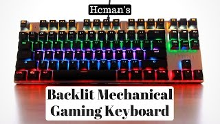 Hcman's Backlit Mechanical Gaming Keyboard