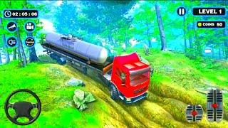 Oil Tanker Truck Driving Simulator Games 2021 । Truck Simulator Gameplay । Android Gameplay screenshot 2