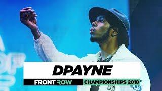 DPayne | FrontRow | World of Dance Championships 2018 | #WODCHAMPS18