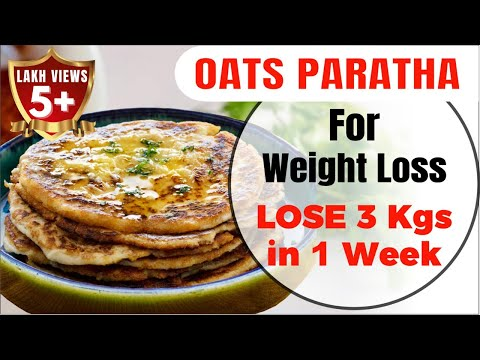 oats-recipe-for-weight-loss---oats-paratha-|-oatmeal-recipe---paratha-/-roti-|-ओट्स-की-रोटी-/-पराठा