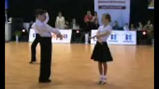 Бальные танцы латина дети