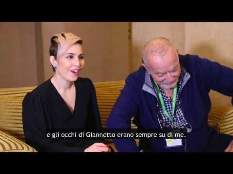Noomi Rapace e Giannetto De Rossi -