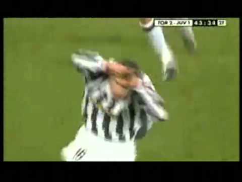 Torino-Juventus 2-2 - Gol di Enzo Maresca - Radiocronaca di Livio Forma (24/2/2002) Radio Rai