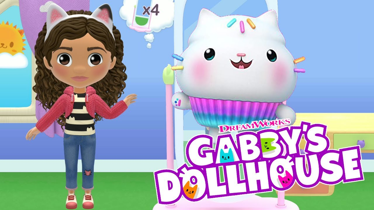 Download Wonderful book of fairy tales Gabby's dollhouse