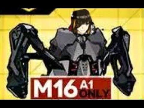 6-4N M16專武撤退刷法 | 少女前線 - YouTube