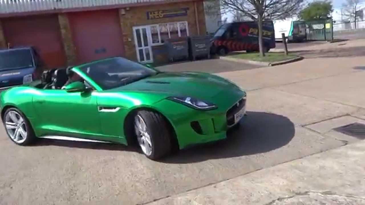 jaguar f type green - photo #8
