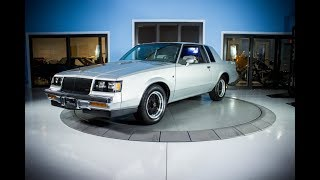 SOLD Beautiful 1987 Buick T-Type