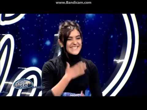 Moroccan Girl sings in arabic and Hindi  مغربية تغني بالهندي وتبهر الجميع لن تندم على الدخول