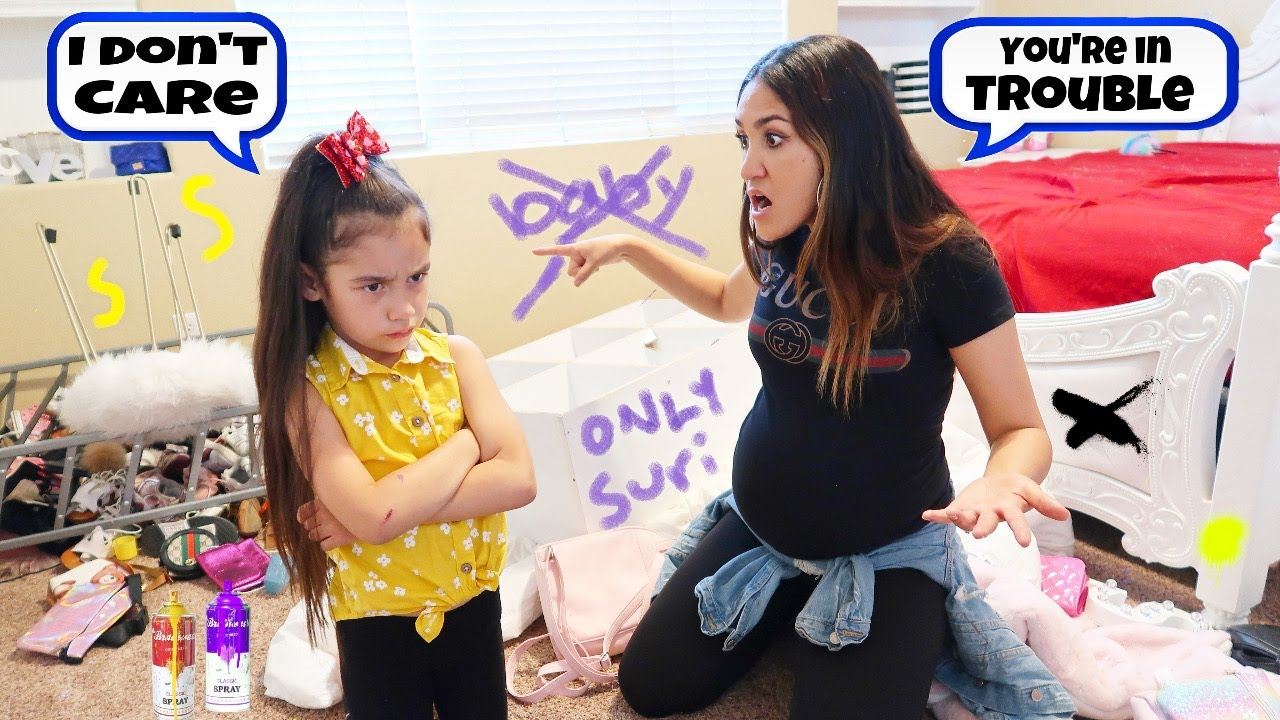 Our Daughter Suri Destroyed Her Entire Room *NO BABY SISTER* | Jancy Family - YouTube