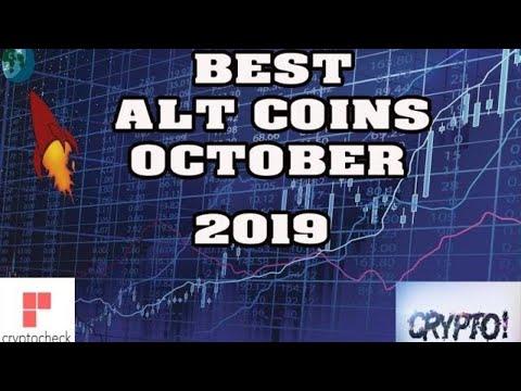 Top 10 ALT COINS TO BUY IN OCTOBER 2019